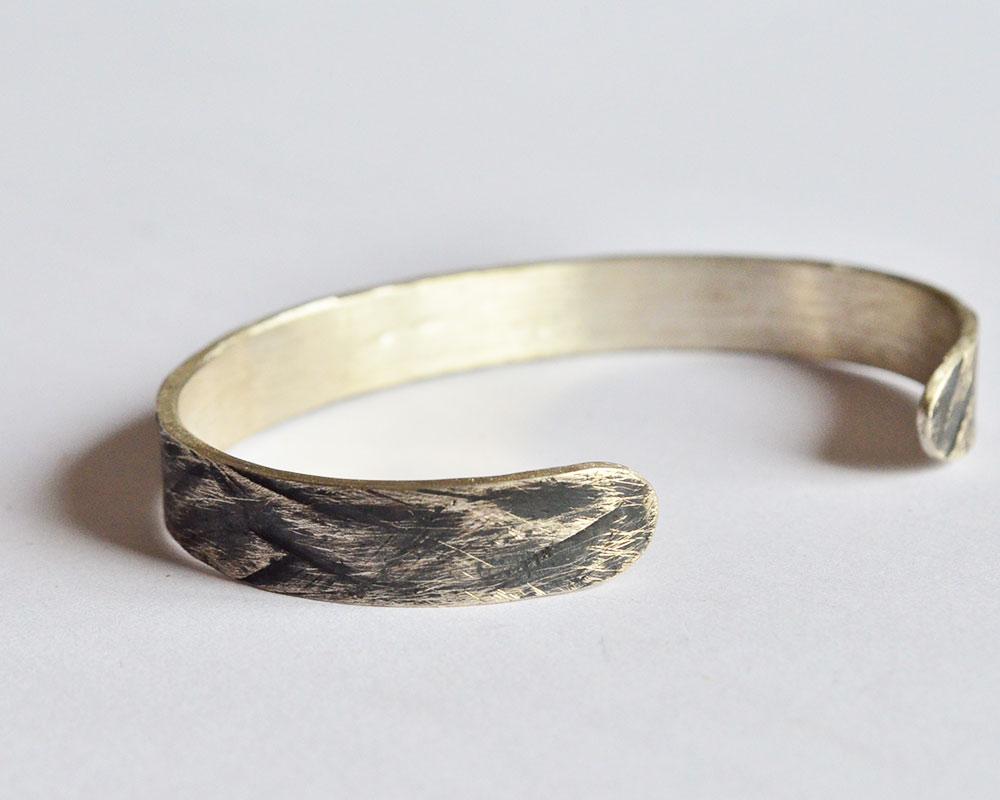 Bracciale oxid Argento 925