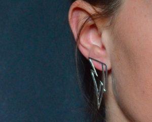 Ziggy orecchini in argento 925 traforato